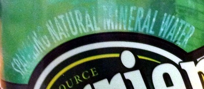 Perrier Sparkling Natural Mineral Water - Ingredients