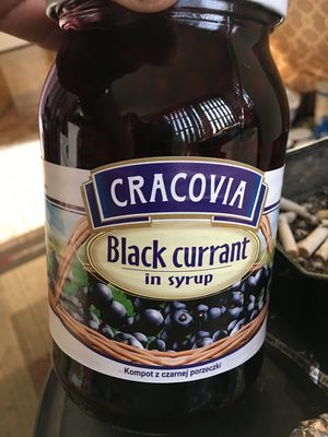 Black currant in syrup - Product