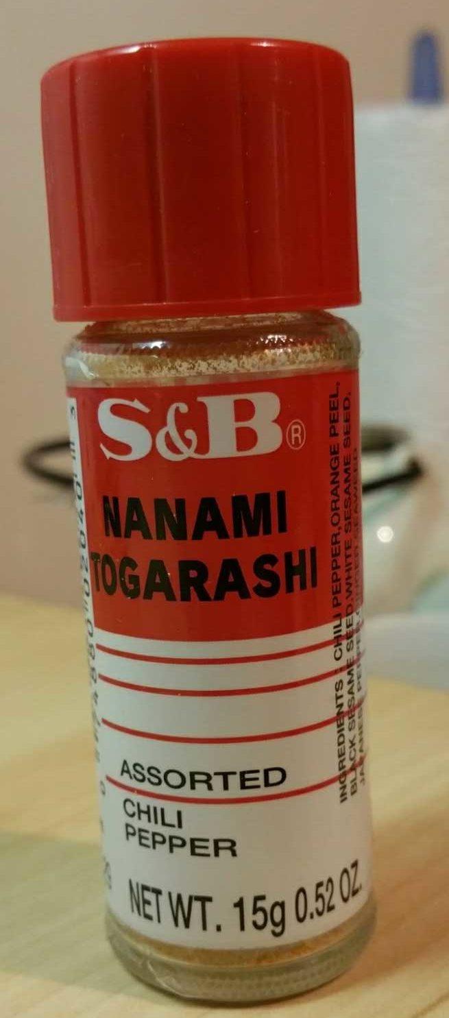 Nanami Togarashi Chili Pepper - Product