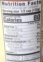 Delgrosso - Nutrition facts - en