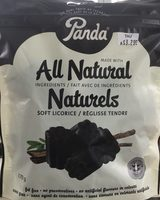 Panda Reglisses Noires - Product