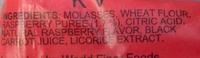 Raspberry Licorice - Ingredients