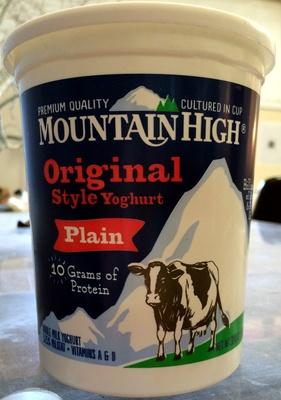 Mountain High Original Style Plain Yogurt - Product - en