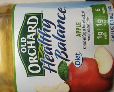 Reduced sugar juice cocktail - Product - en