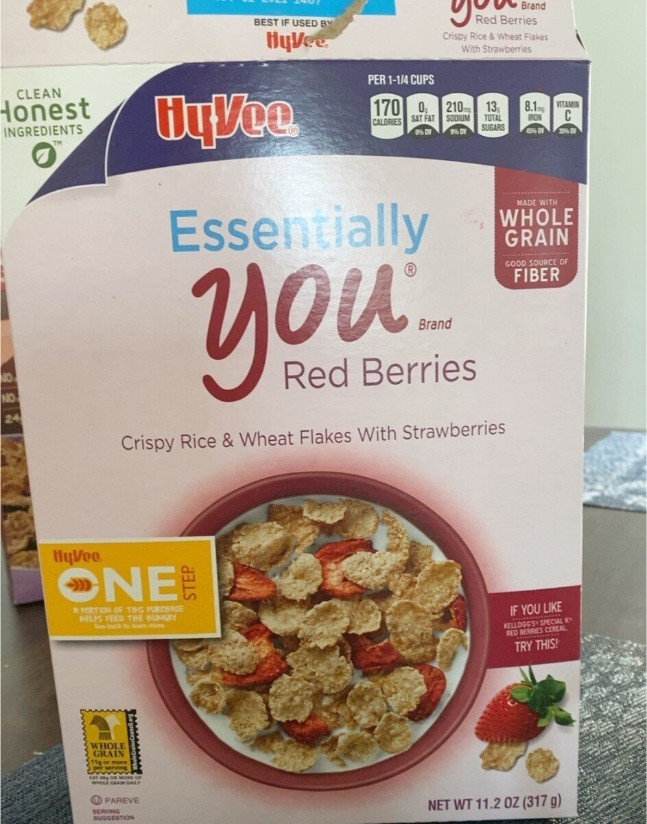 Hy vee essentially you Red berries - Prodotto - en