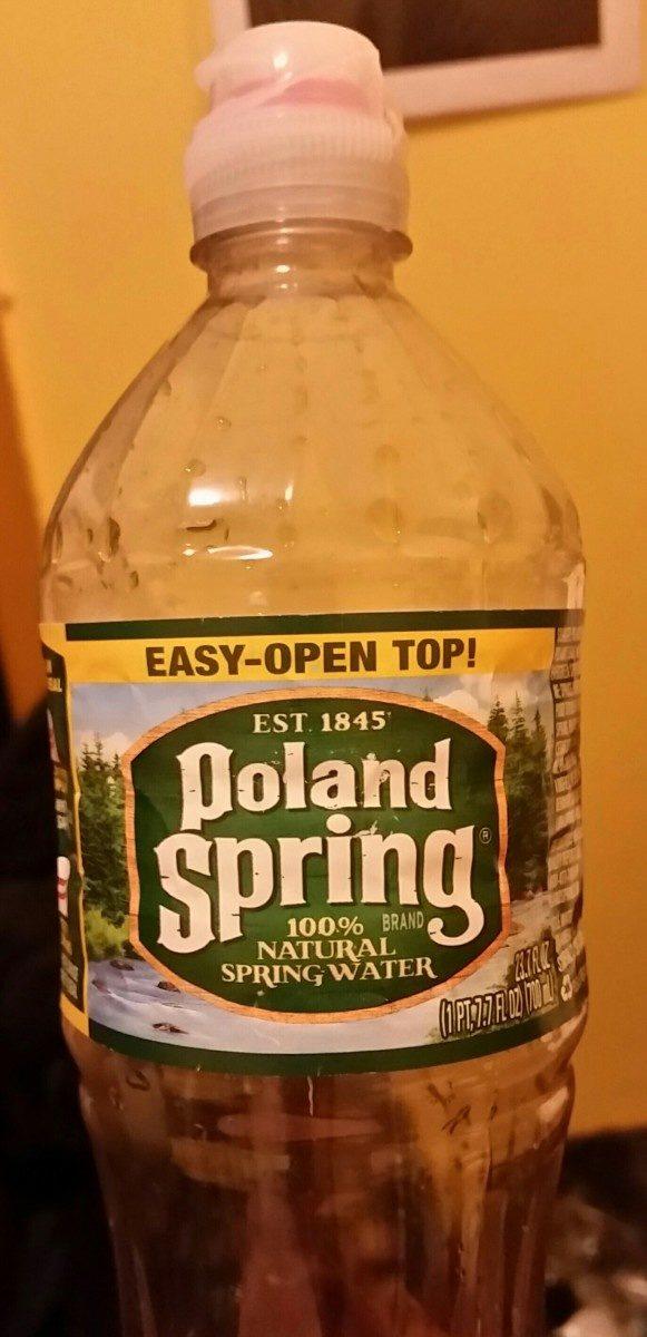 Natural Spring Water - Ingrediënten