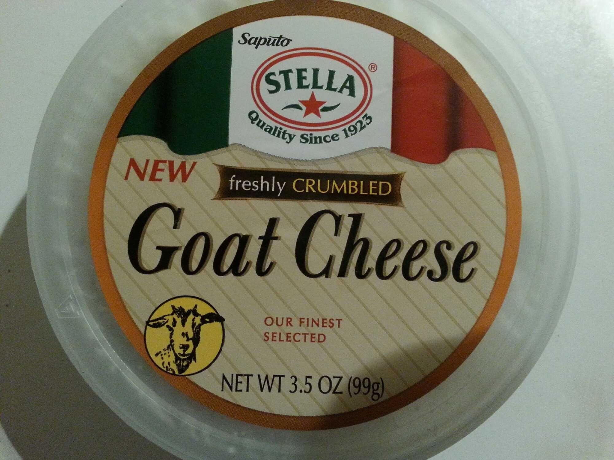 saputo stella goat cheese  35 oz 99 g