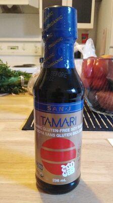 Tamari - Sauce soya bio sans gluten - Produit - fr