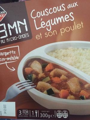 Couscous aux légumes et son poulet - Producto - fr
