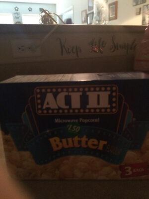 Buttered popcorn - Prodotto - en