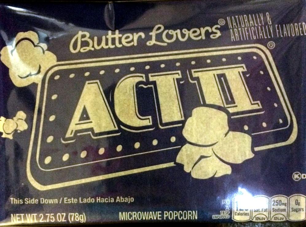 ACT II Butter Lovers, 2.75 OZ - Product - en