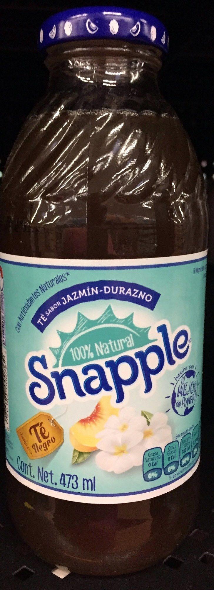 Modifica la página Snapple sabor Jazmín-Durazno - Product