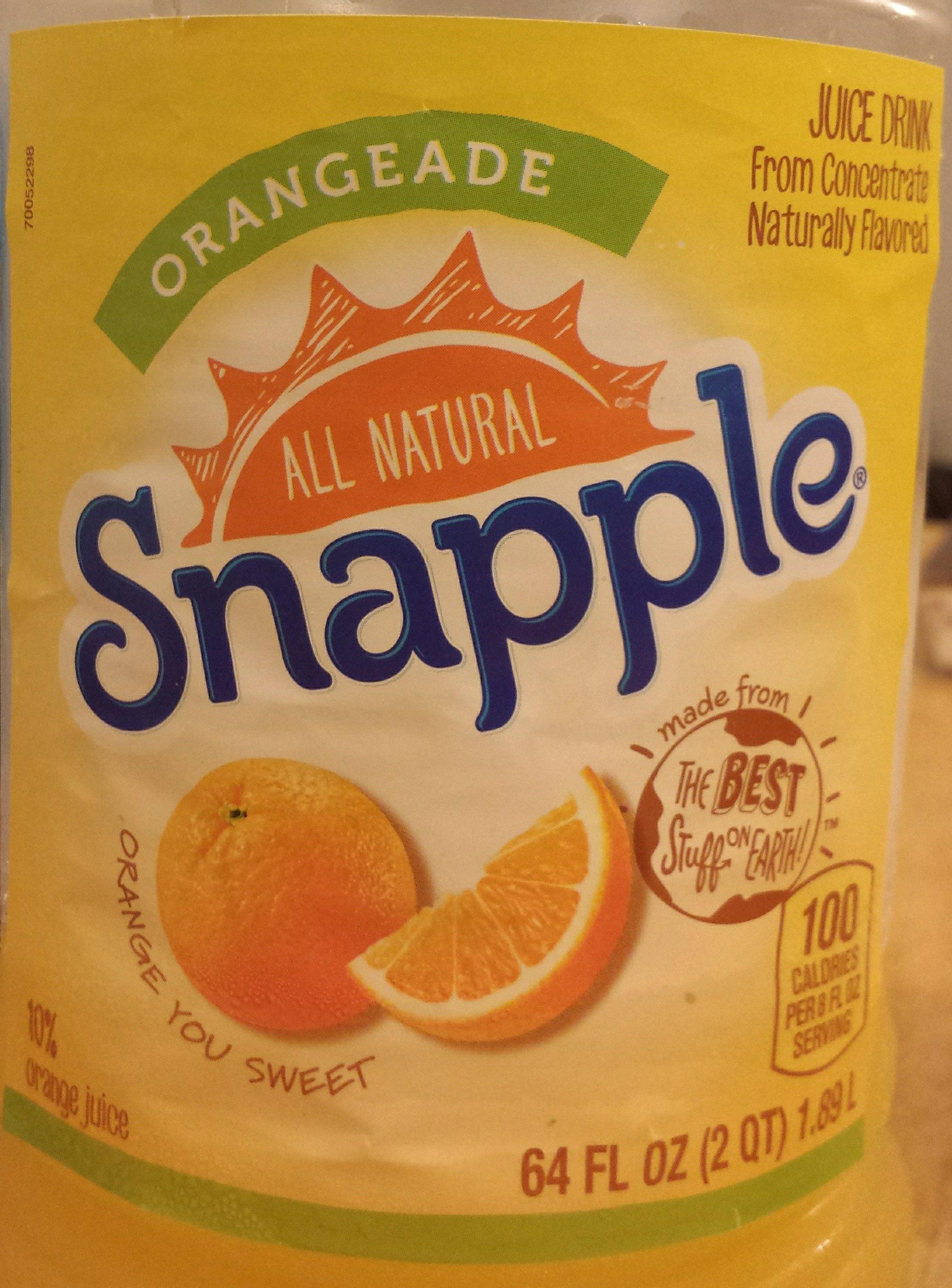 Orangeade - Product