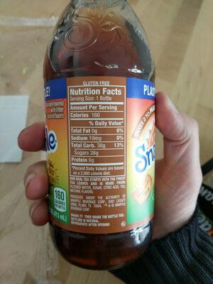 All natural mango tea - Ingredients - en
