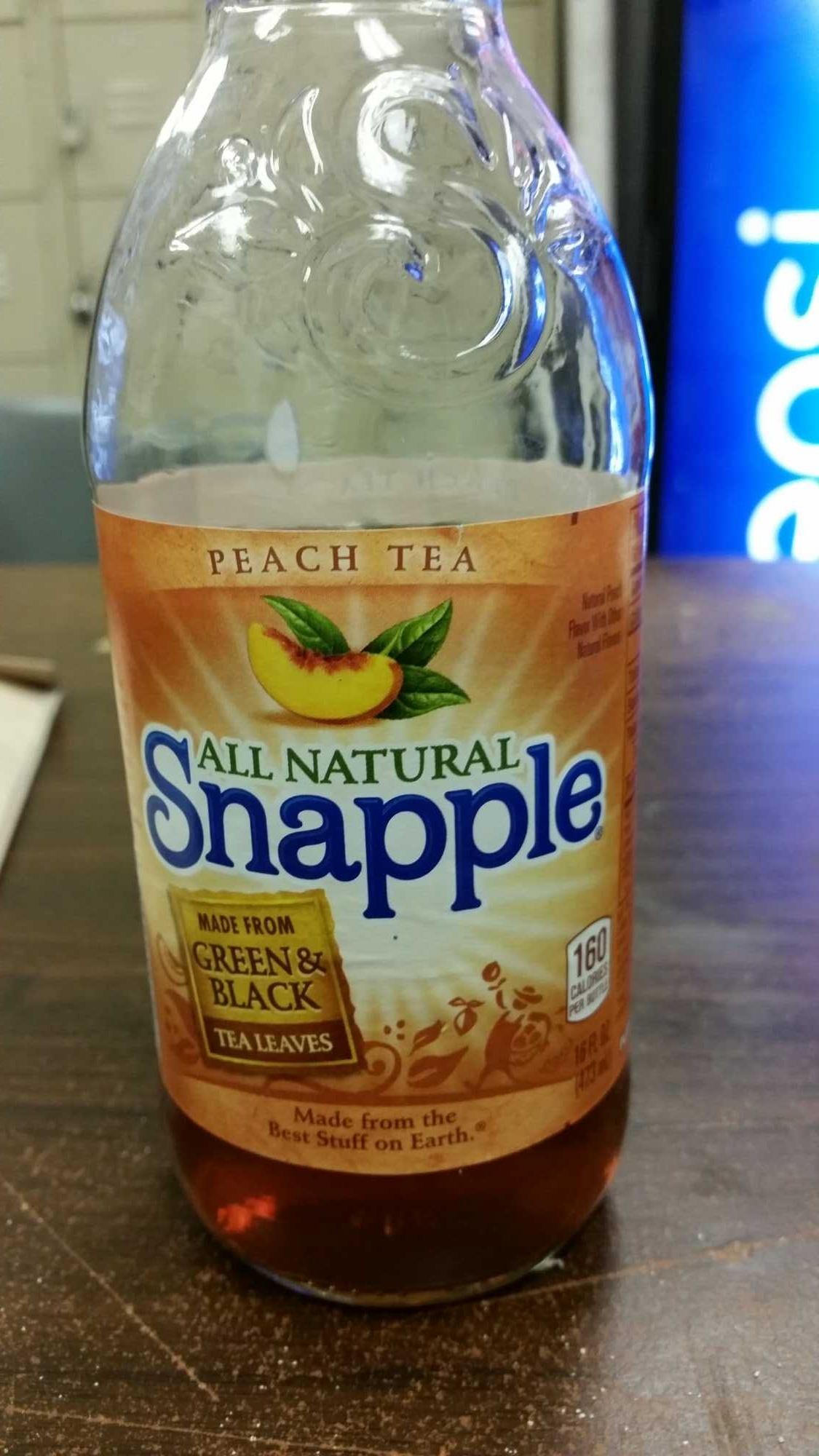 Snapple: Peach Tea - Product