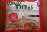 Japanese style noodles & original flavored-soup - Product - en