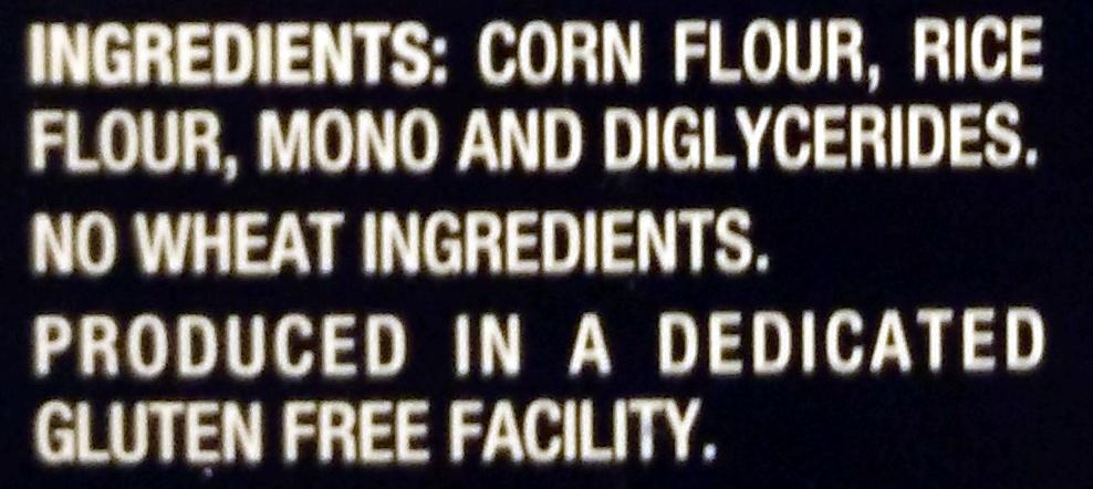Gluten Free Rotini - Ingredients - en