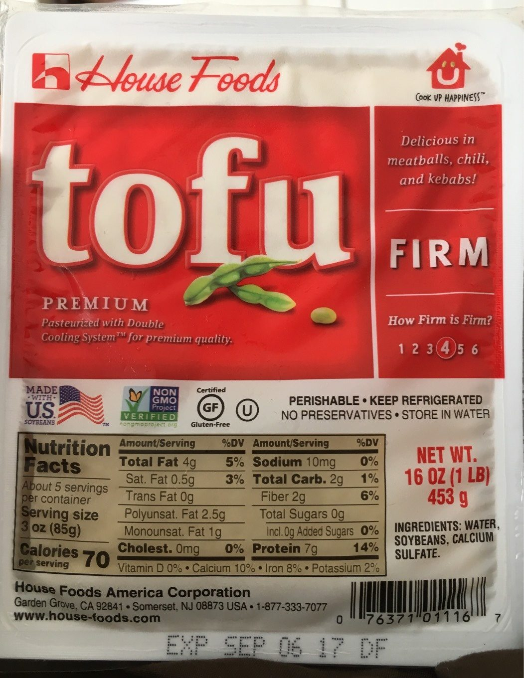 House Foods Premium Tofu Firm - Product