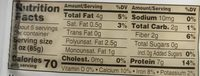 House Foods Premium Tofu Firm - Nutrition facts