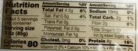 Premium Tofu - Extra Firm - Nutrition facts