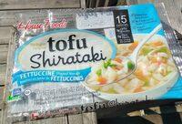 Tofu Shirataki Fettuccine Shaped Noodle - Product