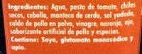 Doña chonita Adobo - Ingrédients