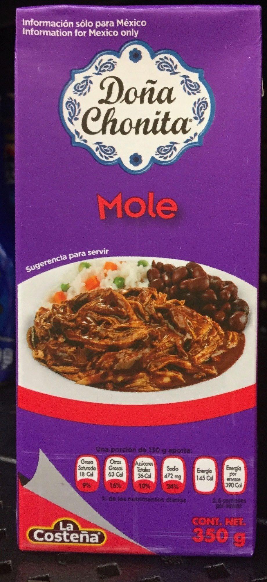 Doña Chonita Mole - Product - es