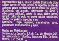 Doña Chonita Mole - Ingrediënten - es