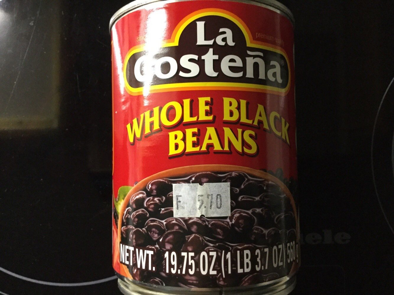 Whole Black Beans - Product - en