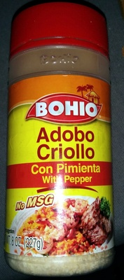 Adobo Criollo with Pepper - Product
