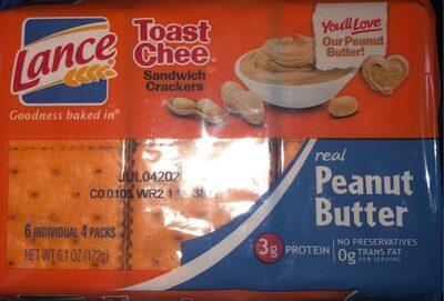 Peanut butter sandwich crackers - Product - en