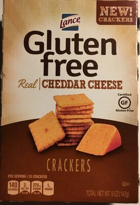 Crackers real Cheddar Cheese - Produkt - en
