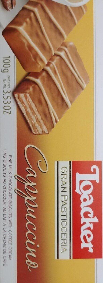Biscuits chocolat au lait crème de café - Product - fr