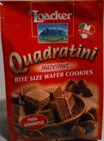 Quadratini Hazelnut - Product