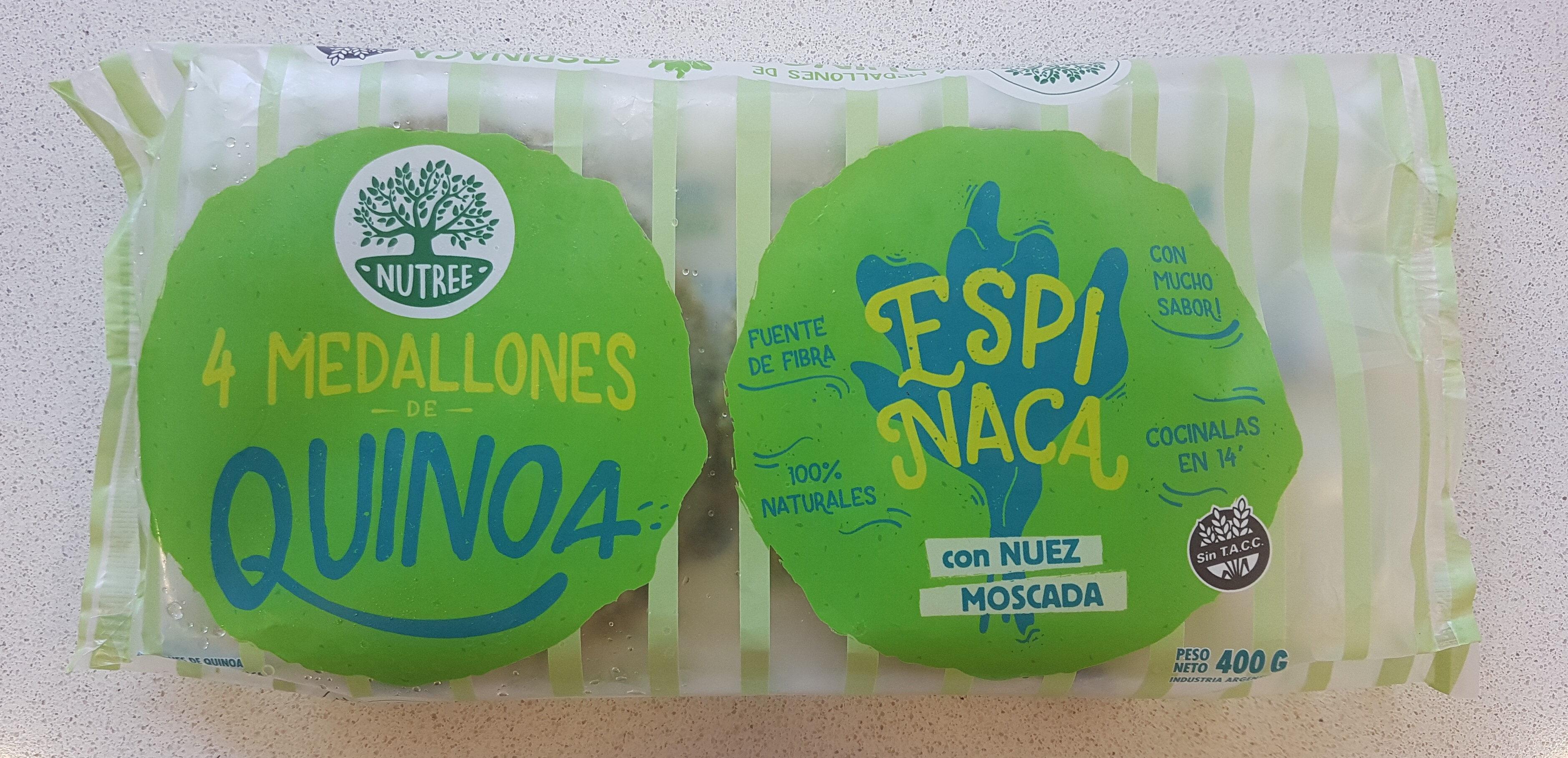 Medallones de quinoa y espinaca - Product - es
