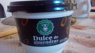 Dulce de Almendras - Product - es