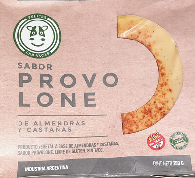 provolone de almendras y castañas - Produit - es