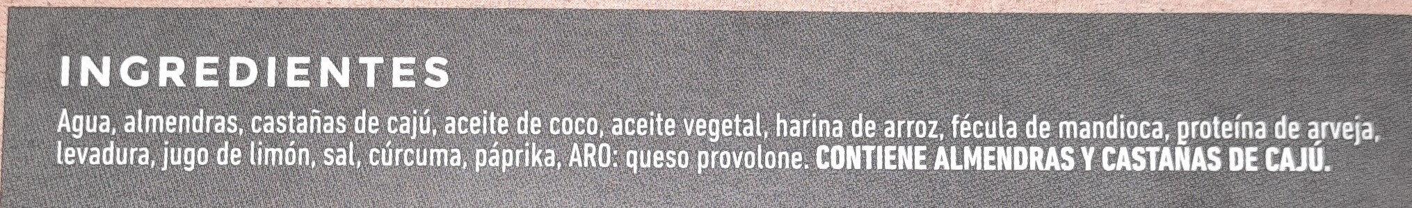 provolone de almendras y castañas - Ingrédients - es