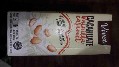 Cacahuate Vainilla Caramel Vivet - Product