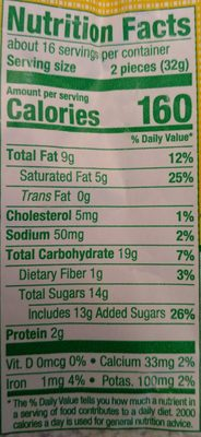 Assorted chocolates - Nutrition facts - en