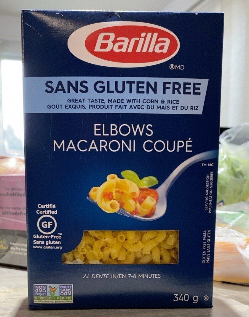 Elbows macaroni coupé - Produit - fr