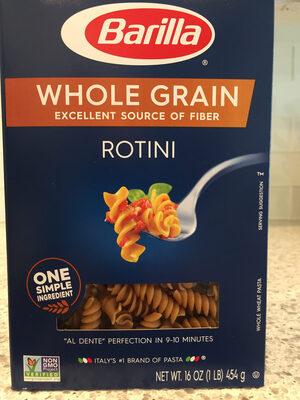 Whole grain rotini pasta - Product