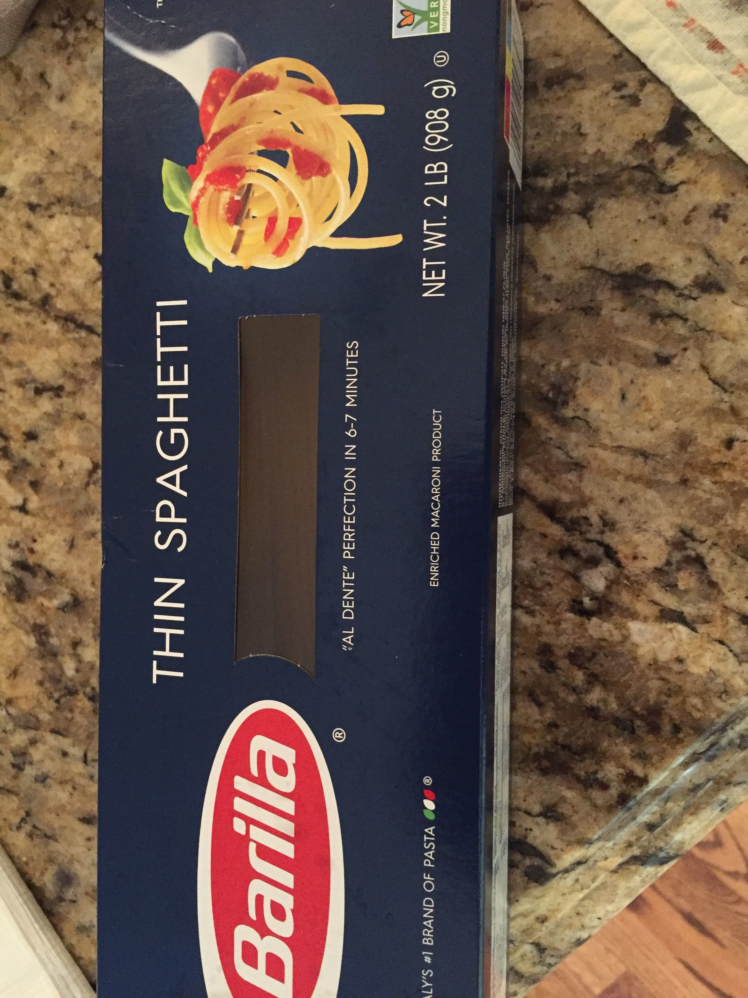 Thin Spaghetti - Product