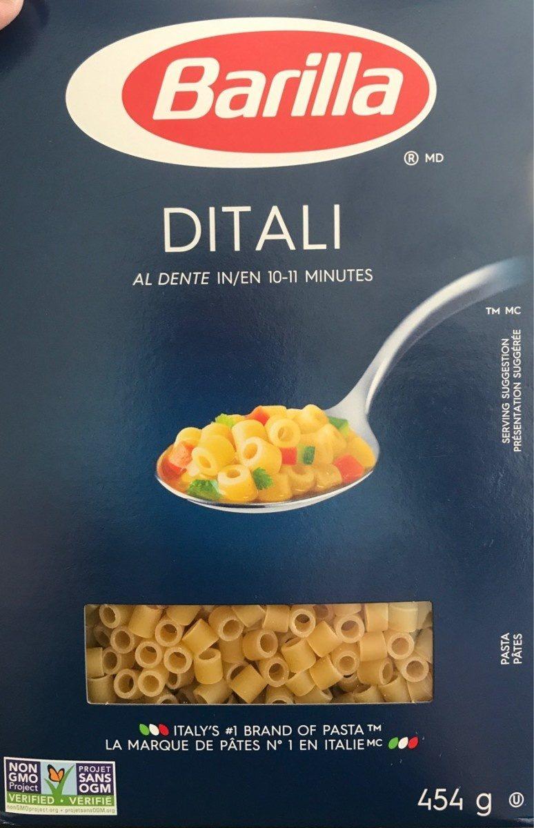 Pâtes DITALI - Produit