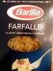 Farfalle pasta, enriched macaroni product - Product