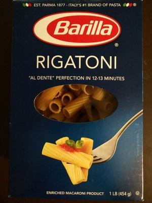 RIGATONI - Product - en