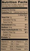 RIGATONI - Nutrition facts