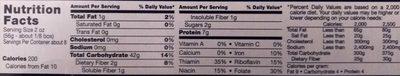 Barilla Pasta Thick Spaghetti - Informations nutritionnelles