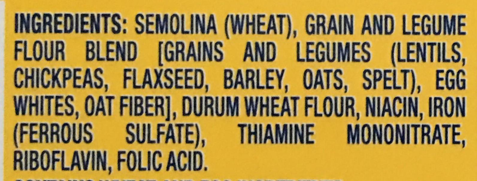 Protein Plus Spaghetti - Ingredients