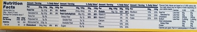 Protein Plus Spaghetti - Nutrition facts